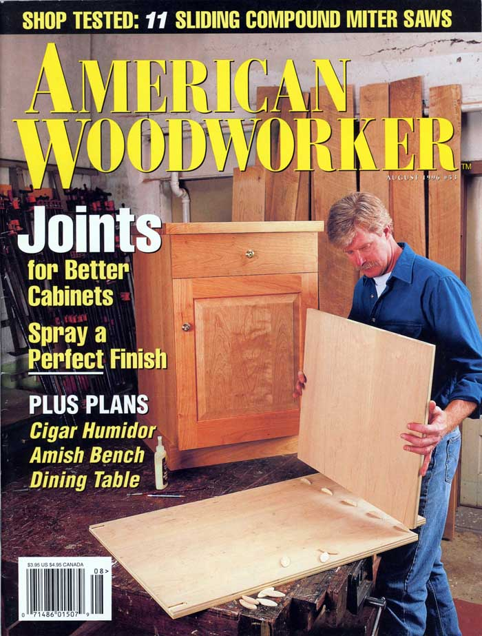Magazine cover - American Woodworker